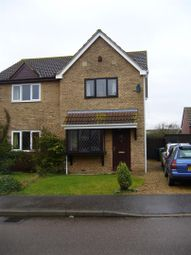 Thumbnail 2 bedroom semi-detached house to rent in Harvest Close, Stilton, Peterborough