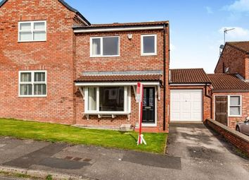 Thumbnail 3 bed semi-detached house for sale in Northfields, Hutton Rudby, Yarm, North Yorkshire