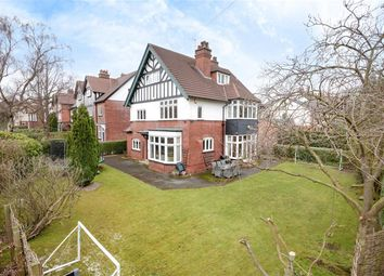 Thumbnail 6 bed detached house for sale in Lidgett Park Road, Roundhay, Leeds