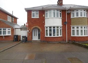 Thumbnail 3 bed semi-detached house for sale in Romway Avenue, Leicester, Leicestershire
