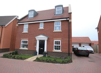 Thumbnail 5 bed detached house for sale in Nuthatch Way, Attleborough