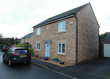 Thumbnail 4 bed detached house for sale in Blestium Drive, Usk