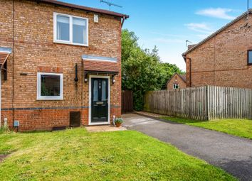 Thumbnail 2 bedroom end terrace house for sale in Lindisfarne Way, East Hunsbury, Northampton