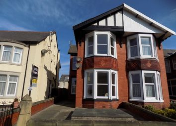 Thumbnail 1 bed flat to rent in Bournemouth Road, Blackpool