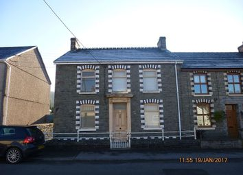 Thumbnail 3 bed end terrace house for sale in Cwmamman Road, Glanamman, Ammanford, Carmarthenshire.