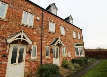 Thumbnail 3 bed town house for sale in Horsley Road, Gainsborough