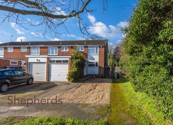 Thumbnail 3 bed end terrace house for sale in Bridle Close, Hoddesdon, Hertfordshire