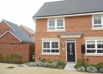 Thumbnail 2 bed end terrace house to rent in Elvaston Drive, Littleover, Derby