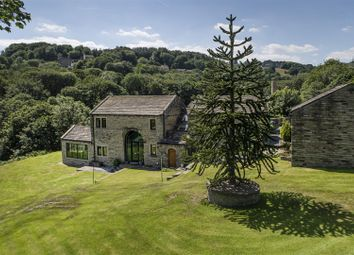 Thumbnail 5 bed detached house for sale in Brook Lane, Golcar, Huddersfield