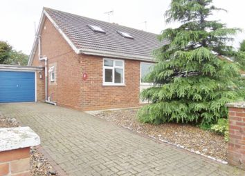 Thumbnail 3 bed bungalow for sale in Newarp Way, Caister-On-Sea