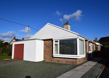 Thumbnail 3 bed detached bungalow for sale in 6, Cae Maenllwyd, Machynlleth, Powys