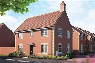 Thumbnail 4 bed detached house for sale in Cloverfields, Didcot
