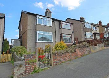 Thumbnail 3 bed semi-detached house for sale in Stockerhead Lane, Slaithwaite, Huddersfield
