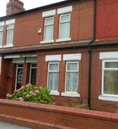 Thumbnail 3 bedroom terraced house to rent in Gorton Road, Stockport