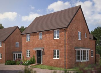 "Thumbnail 4 bed detached house for sale in ""The Claremont"" at Bryony Road, Hamilton, Leicester"