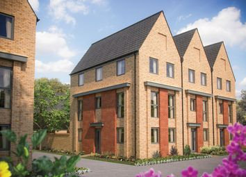 Thumbnail 3 bed town house for sale in Station Road, Longstanton, Cambridge