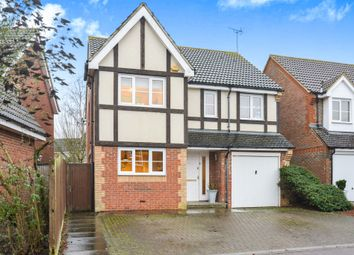 Thumbnail 4 bedroom detached house for sale in Dowding Way, Leavesden, Watford