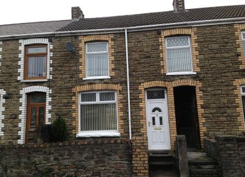 Thumbnail 3 bed terraced house to rent in Bridgend Road, Maesteg, Bridgend.