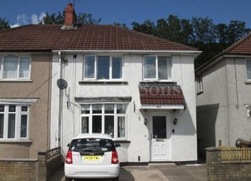 3 bed semi-detached house for sale in Ty Isaf Park Road, Risca, Newport. NP11