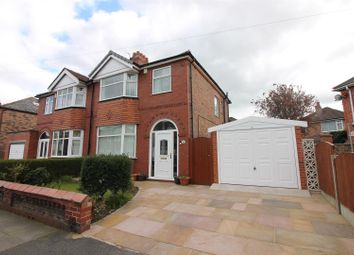 Thumbnail 3 bed semi-detached house for sale in Derwent Road, Urmston, Manchester