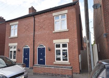 Thumbnail 2 bed semi-detached house to rent in Highfield Street, Coalville, Leicestershire