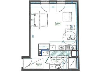 Thumbnail 1 bed apartment for sale in 01210, Ferney Voltaire, Fr