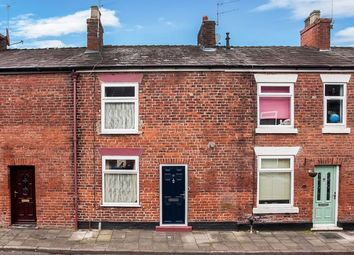 Thumbnail 2 bed terraced house for sale in William Street, Buglawton, Congleton