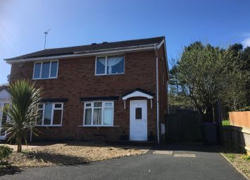 Thumbnail 2 bedroom semi-detached house for sale in Heathlands Close, St. Georges, Telford
