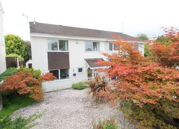 Thumbnail 4 bed semi-detached house for sale in Bainbridge Court, Plympton, Plymouth