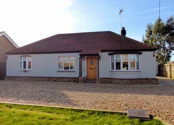 Thumbnail 3 bed detached bungalow for sale in Gorefield Road, Leverington, Cambridgeshire