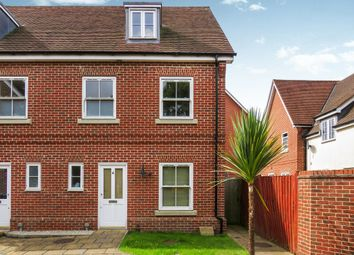 Thumbnail 4 bedroom end terrace house for sale in Library Mews, Rendlesham, Woodbridge