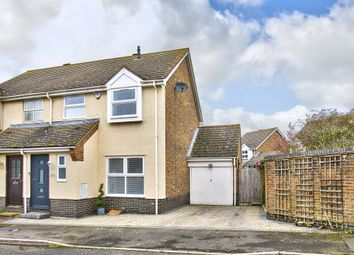 Thumbnail 3 bed semi-detached house for sale in Trinity Close, Great Paxton, St. Neots