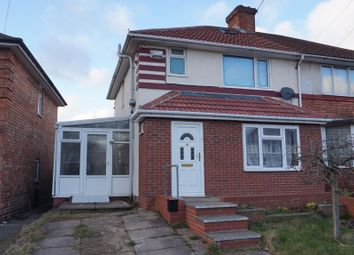 Thumbnail 3 bed semi-detached house for sale in Tottenham Crescent, Kingstanding, Birmingham