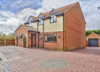 Thumbnail 4 bed detached house for sale in The Green, Ellington, Huntingdon