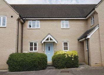 Thumbnail 3 bedroom terraced house to rent in Marsh Way, Bury St. Edmunds