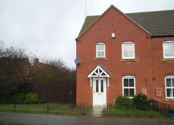Thumbnail 3 bedroom property to rent in Wake Way, Grange Park, Northampton