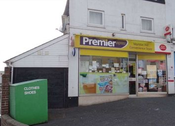 Thumbnail Retail premises for sale in Paignton, Devon