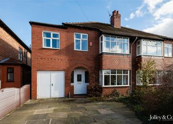 Thumbnail 4 bed semi-detached house for sale in 3 Ashfield Grove, Stockport, Cheshire
