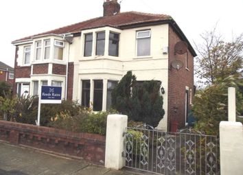 Thumbnail 3 bedroom semi-detached house for sale in Stadium Avenue, Blackpool
