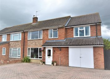Thumbnail 4 bed semi-detached house for sale in Mowbray Road, Didcot