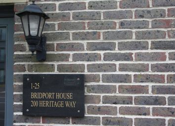 Thumbnail 2 bed flat to rent in Bridport House, Heritage Way, Gosport