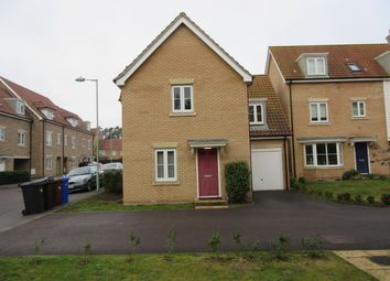Thumbnail 4 bed detached house to rent in Evergreen Way, Mildenhall