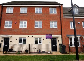 Thumbnail 4 bed town house for sale in Birstall Meadow Road, Leicester
