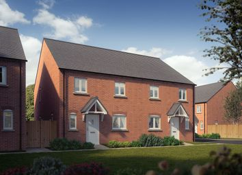 "Thumbnail 4 bed end terrace house for sale in ""The Woodstock"" at Whitelands Way, Bicester"