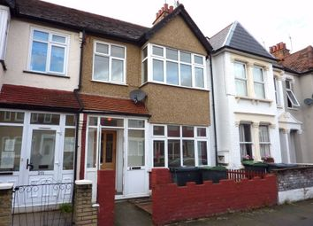 Thumbnail 3 bed terraced house to rent in Sirdar Road, London