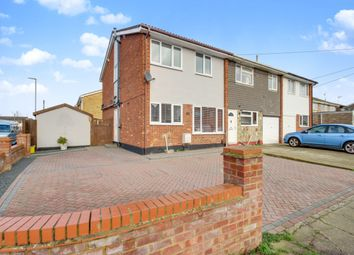 Thumbnail 3 bed end terrace house for sale in Overton Road, Benfleet