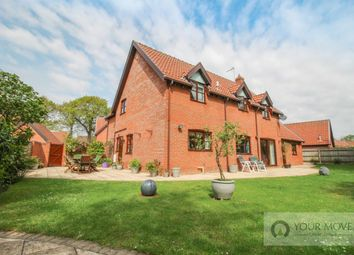 Thumbnail 4 bed detached house for sale in St. Benedict's Close, Toft Monks, Beccles