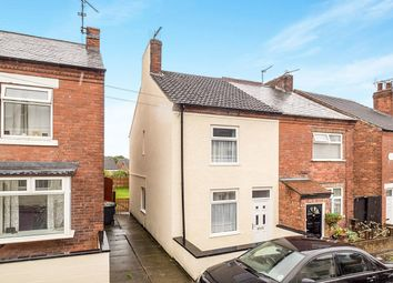Thumbnail 2 bedroom semi-detached house for sale in Sedgwick Street, Jacksdale, Nottingham