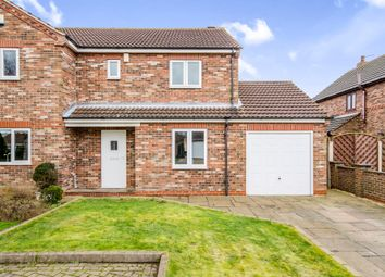 Thumbnail 3 bed semi-detached house for sale in Scardale Court, Brayton, Selby