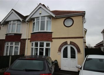 Thumbnail 3 bed semi-detached house for sale in Grasmere Crescent, Sinfin, Derby
